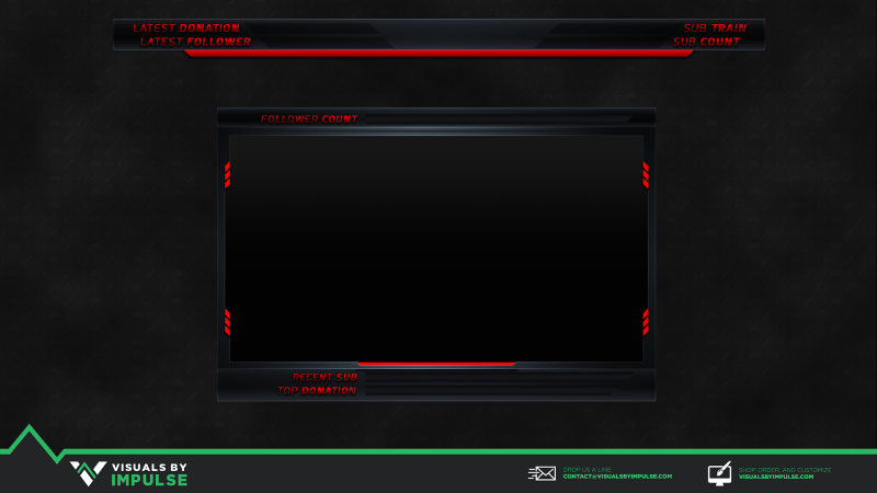 Animated Webcam Overlay Twitch Overlay Valhalla
